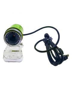 Bullet Web Camera USB με μικρόφωνο 3.5mm Πράσινη 0420.011