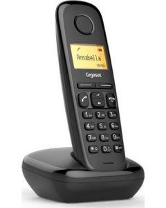 Ασύρματο τηλέφωνο Gigaset A170 Μαύρο Αναγνώριση/Ανοιχτή