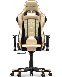 Oneray Gold Gaming Chair Χρυσό