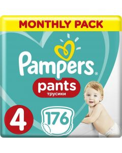 PAMPERS PANTS No. 4 1x176 MSB - 28084 - 8001090807922