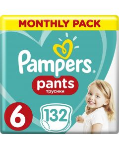 PAMPERS PANTS No. 6 1x132 MSB - 28086 - 8001090808080