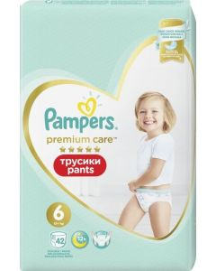 PAMPERS PREMIUM PANTS No. 6 42 MP - NEW - 8001841325545