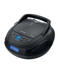 Φορητό ράδιο CD player με Bluetooth Μαύρο CD-1012A - L07.290