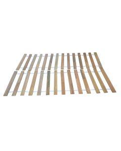 Πάτωμα Κρεβατιού 140x200 Mασίφ Ξύλο με Ιμάντα TO-FLOOR140