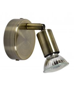 SE 140-BR1 SABA WALL LAMP BRONZE Α1 - 77-4447 - Home Lighting