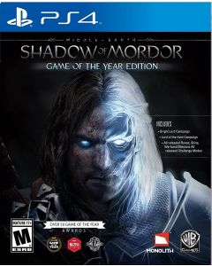 MIDDLE EARTH: SHADOW OF MORDOR GAME OF THE YEAR PS4 1.12.74.01.018