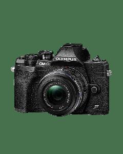Olympus E-M10 IV Camera 1442 EZ Pancake Kit blk/blk, M.Zuiko Digital ED 14-42mm F3.5-5.6 EZ black 9.01.03.03.140 V207132BE000