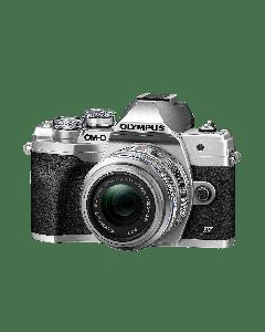 Olympus E-M10 IV Camera 1442 EZ Pancake Kit slv/slv,  M.Zuiko Digital ED 14-42mm F3.5-5.6 EZ silver 9.01.03.03.141 V207132SE000