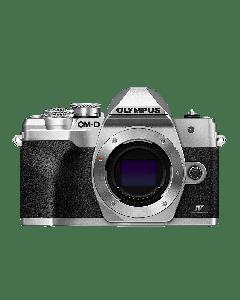 Olympus E-M10 IV Camera Body silver, BLS-50, F-5AC USB-AC Adapter, USB cable, Shoulder Strap 9.01.03.03.139 V207130SE000