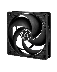 Arctic P12 (black/black) - Pressure-optimised 120 mm Fan 2.35.64.00.037 ACFAN00118A