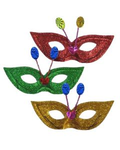 ΜΑΣΚΑ  ΧΡΥΣΟΣΚΟΝΗ Υ:10cm Carnavalista 231350 3-1330