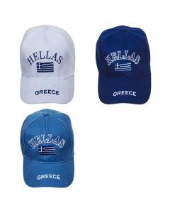 ΚΑΠΕΛΟ ΤΖΟΚΕΥ GREECE AΝΔΡΙΚΟ  SUMMERtiempo 62586 42-566