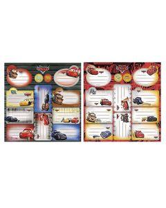 ΕΤΙΚΕΤΕΣ CARS ΣΕΤ=2 ΦΥΛΛΑ ΕΠΙ 12 ΕΤΙΚΕΤΕΣ  Beniamin Sp. z o.o. Sp. k. 5901276087540 50-2266