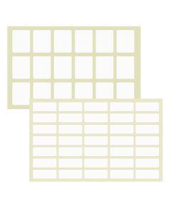 ΕΤΙΚΕΤΑΚΙΑ ΑΥΤΟΚΟΛΛΗΤΑ ΠΑΚ=40Φ ΦΥΛΛΟ=13x9cm Justnote 7051 50-31