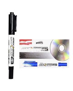 ΜΑΡΚΑΔΟΡΟΙ CD-DVD ΜΑΥΡΟΙ  Justnote 80120 60-100