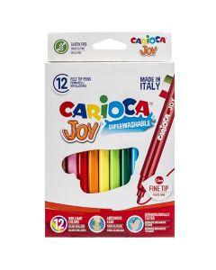 ΜΑΡΚΑΔΟΡΟΙ CARIOCA JOY 2.6mm ΣΕΤ=12 ΧΡΩΜΑΤΑ  Carioca 60-6