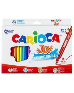 ΜΑΡΚΑΔΟΡΟΙ CARIOCA JOY 2.6mm ΣΕΤ=24ΧΡΩΜΑΤΑ  Carioca 60-7