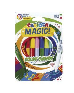 ΜΑΡΚΑΔΟΡΟΣ CARIOCA MAGIC ΣΕΤ=10 ΧΡΩΜATA  Carioca 42737 60-701