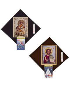 ΗΜΕΡΟΛΟΓΙΟ ΕΙΚΟΝΑ 14x14cm Xmasfest 1131149 93-1129