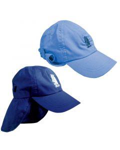 Καπέλο με κάλυμμα, Ενηλίκων, Μπλε