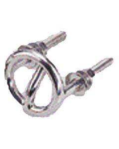 Δέστρα για σκοινί ρυμουλκισής, Διαμ.: 6,3cm, Μήκος Σπειρώματος: 5cm