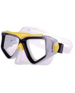 Μάσκα, PVC, κίτρινη-μαύρη
