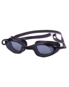 Γυαλάκια Κολύμβησης σιλικόνης, με antifog φακούς, μαύρα