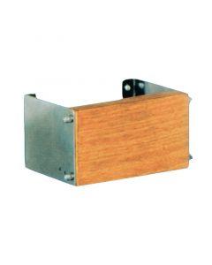 Βάση ανοξείδωτη εφεδρικής μηχανής, ρυθμιζόμενη 0-17ο, με ξύλινο καθρέφτη για μηχανές έως 12 ΗΡ.