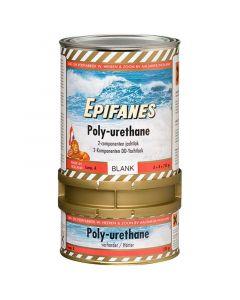 Βερνίκι διαφανές πολυουρεθάνης Epifanes, 2 συστατικά, με λούστρο, με φίλτρο UV, 750gr