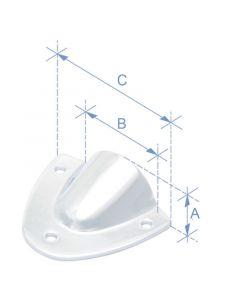 Κάλυμμα απορροής, AISI 316, 11x27x42,2mm