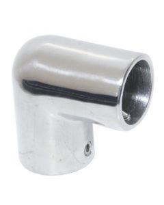 Γωνία 90o, AISI 316, χυτή, για σωλήνα διάμ. 22mm