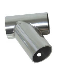 Σύνδεσμος T 60ο, διάμ. 25mm,Inox 316