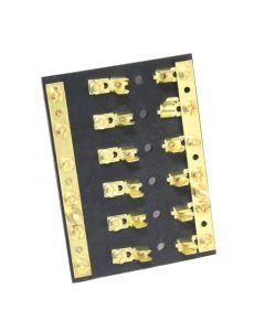 Ασφαλειοθήκη με διακλαδωτήρα,12V,20A 8,3cmx7,6cm