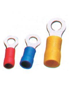Ακροδέκτης Καλωδίου, Διαμ. 4,3mm, κόκκινος, για καλώδιο 0,25-1,5mm2 (50 τεμ.)
