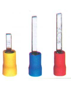 Ακροδέκτης μύτης, κόκκινος, για καλώδιο 0,25-1,5mm2 (40 τεμ.)