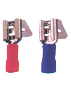 Ακροδέκτης διπλός (αρσενικός-θηλυκός), κόκκινος, για καλώδιο 0,25-1,5mm2 (20 τεμ.)