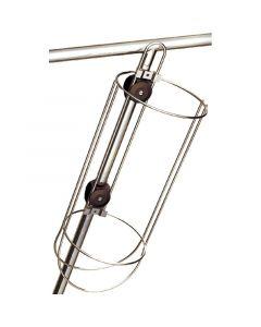 Μπαλονοθήκη συναρμολογίσιμη, ανοξείδωτη, Εσωτ. Διαμ. 180mm, Y 420mm