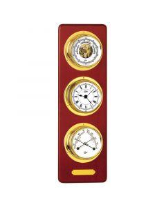 Βαρόμετρο, ρολόι Quartz & θερμόμετρο, διάμ. 70mm