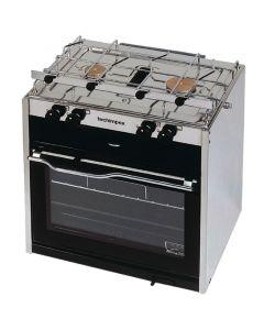 Κουζίνα με φούρνο, 2 εστίες & ξεχωριστή σχάρα, 450x390x450mm, 21,5kg