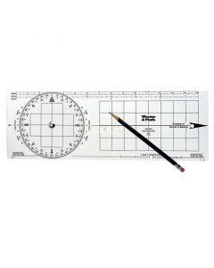 Χάρτης/Μοιρογνωμόνιο ,15'' x 5''