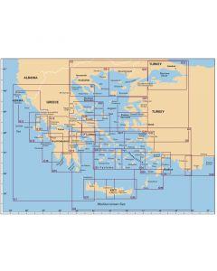Πλοηγικός Χάρτης Ελλάδος G1, ''Κεντρική Ελλάδα και Πελοπόννησος'', Imray