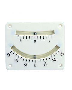 Κλινόμετρο,πλαστικό, δύο κλιμάκων, 10.1 x 8.26cm
