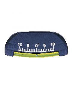 Κλινόμετρο 10 μοιρών, πλαστικό, 8.89 x 3.81 cm