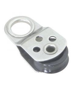 Μικρο-ράουλο με μεταλλικό κρίκο,17mm, διάμ. 5mm