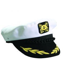 Καπέλο Καπετάνιου, βαμβακερό, άσπρο, large (μέγεθος 60)