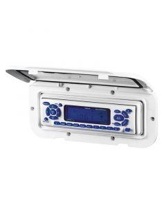 Καλυμμα Θήκης Radio/CD, 110x235mm, Λευκή