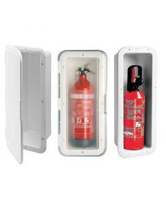 Θήκη για Πυροσβεστήρα 1Kg, Λευκή