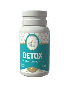 Detox Cleanse Formula Φυτικό Συμπλήρωμα για Αποτοξίνωση του Οργανισμού 60 Κάψουλες 7162