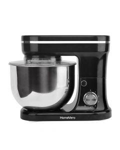 HomeVero Επιτραπέζιο μίξερ - Κουζινομηχανή 1200W σε μαύρο χρώμα HV-24461BL - HV-24461BL