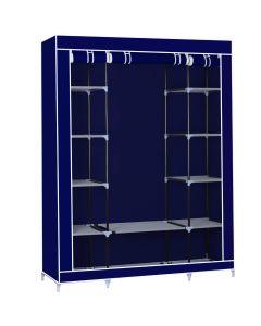 Φορητή υφασμάτινη ντουλάπα Herzberg HG-8009-BL Μπλε 5137
